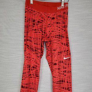Nike Pro Fuchsia Compression Run Leggings Fuchsia